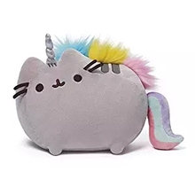 Unicorn plush Doll Children's Toys Guitar Fat Cat Rainbow Horse Shape Biscuit Cat Plush Doll Gift Merry Christmas(China)