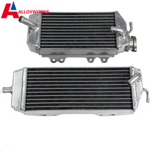 High Quality NEW Motorcycle Engines Both Of Side Of OEM Parts Aluminum OVERSIZED Radiator FOR KAWASAKI KXF250 06 07 08 KX250F