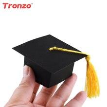 Tronzo Doctor Hat Cap Candy Box Packages Graduation 2018 50pcs Doctorial Hat  Graduation Gift Bag Graduation Party Decoration 7f9ba7c2a5e8