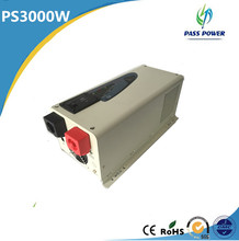 New design Off-grid low frequency UPS 3000w hybrid solar inverter with LCD display ,one year warranty !(China)
