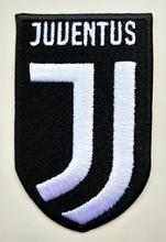 2pcs Football soccer club Serie A Juventus Italy CLUB new Logo iron on Patch Aufnaeher Applique Buegelbild Embroidered(China)