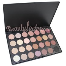 Pro 28 Color Neutral Warm Eyeshadow Palette Eye Shadow Makeup Set Smoky Color Make up Pallete