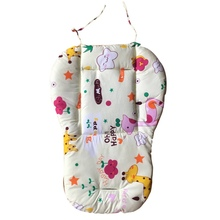 Baby Stroller Seat Cartoon Umbrella Cart Car Print Cushion Stroller Pad Mattresses Pillow Cover Child Carriage Car Pad(China)