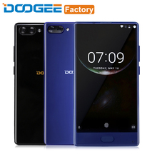 Doogee MIX 4G RAM 64GB ROM Mobile Phone Helio P25 Octa Core 5.5 Inch Smartphone Android 7.0 3380mAh Fingerprint 4G Cell Phone