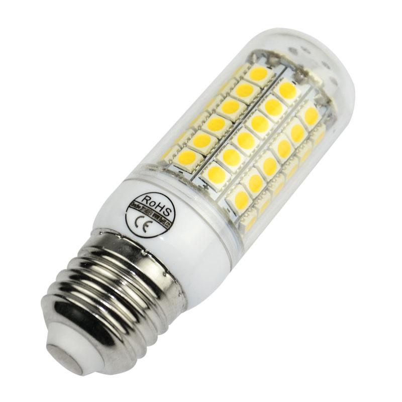 Ultra bright SMD5050 70LEDs 12W E27 led bulb lamp 220V bombillas led light lamparas Warm white 3000K