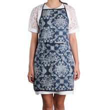 Cloth Shoulder strap sleeveless Apron Household items Cooking/Cleaning / kitchen / Baking Women Aprons(China)