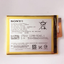 Buy New Original Sony LIS1618ERPC Battery SONY Xperia XA F3116 E5 F3115 F3112 F3111 F3313 2300mAh for $11.06 in AliExpress store