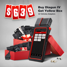 Launch X431 Diagun IV Powerful Diagnostic Tool with 2 year Free Update X-431 Diagun IV better than diagun iii/3 as X431 IV(China)