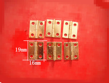 16*19MM  kitchen cabinet hinges jewelry box hinges furniture hinges  Antique golden bronze Wholesale