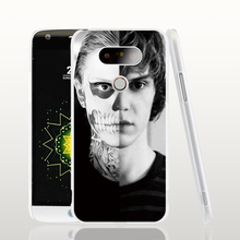 18142 evan peters doule face life cell phone case cover for LG G5 G4 G3 K10 K7 Spirit magna