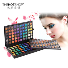 180 Color Pearl Matte Earthy Colors Eye Shadow Senior Studio Unprecedented Discount Makeup 3 Layer Full Size Eyeshadow Palette(China)