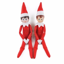 Christmas Dolls Elves Tuxedo scarf skates skirts boots clothes set redindeer The elf on the shelf plush toy Christmas elf gift