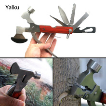 Yalku Multitool Pliers Axe Hand Tools Plier Multitool Hand Tools 7 Style Outdoor Camping Multitool Plier Folding Knife Hammer