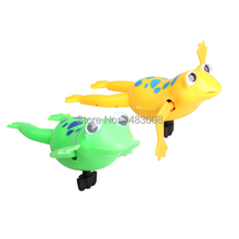Swimming Frog Battery Operated Pool Bath Cute Toy Wind-Up Swim Frogs Kids Toy High Quality(China)