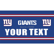 Your Text New York Giants Flag Banners Football Team Flags 3x5 Ft Super Bowl World Champions Banner Decoration 100D Custom