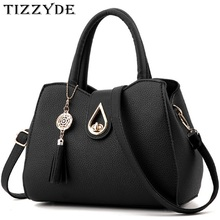 Women Tassel Pendant Handbag Water Droplets Sequined Messenger Bag High Capacity Shell Shoulder Bag Female Brand Designer ZHP01(China)