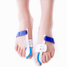 APTOCO 2Pcs Big Toe Separator Corrector Straightener Bunion Splint Toe Straightener Foot Pain Relief Hallux Valgus Feet Care