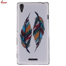 Soft silicone Cases For Sony Xperia T3 Cover M50w Cute Owl TPU Phone Cases for housing Sony T3 T 3 Xperia T3 mobile cases hoesje