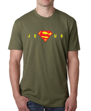 Superman Jesus t shirt men 2017 summer short sleeve o-neck tee Shirt homme funny harajuku brand clothing fitness top hip-hop top