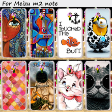TAOYUNXI Plastic and Soft TPU Phone Cover For Meizu M2 Note Meilan Note 2 4G LTE Dual SIM Cases Wholesale Retail Cell Phone Bags