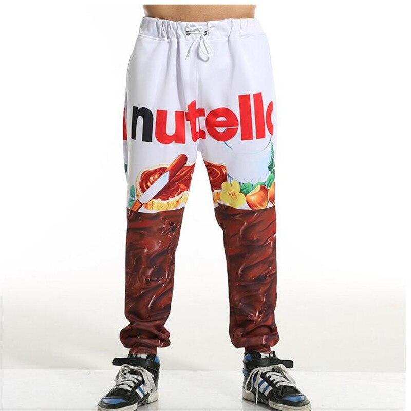 Nutella Sweatpants Men/Women S--6XL