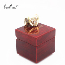 High quality 1997 Chicago Bull Ring replicer Alloy Ring / Super Bowl Ring Wooden Box / Manufacturer 8 to 14 Dimensions(China)
