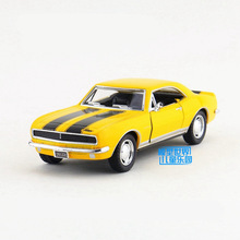 Free Shipping/KiNSMART Classical Toy/Diecast Model/1:37 Scale/1967 Chevrolet Camaro Z/28/Pull Back Car/Collection/Gift/Children(China)