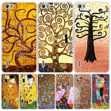 gustav klimt tree of life cell phone Cover Case for huawei honor 3C 4A 4X 4C 5X 6 7 8 Y6 Y5 2 II Y560