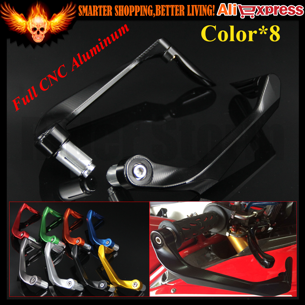 7/8 22mm Motorcycle Handlebar Brake Clutch Levers Protector Guard for Triumph SPEED FOUR DAYTONA 600/650 SPRINT GT SPRINT ST/RS<br>