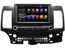 Free Shinpping Android Car DVD Player For Mitsubishi Lancer GPS Radio With 3G/wifi USB  BT