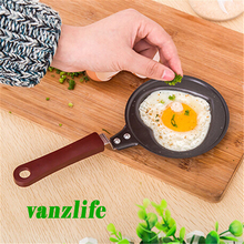 vanzlife Mini love omelette pot non-stick pan small frying pan creative Korean breakfast pot