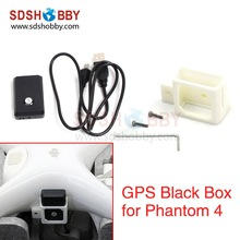 GPS Black Box Locator with Mounting Bracket Holder Audio Video Position Feedback Lost & Found for DJI Phantom 4