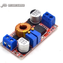 input 5V-32V Output 0.8V-30V Constant current high voltage 5A lithium-ion battery charging LED drive power module imports