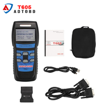 2017 Excellent Performance Memoscan T605 for TOYOTA/LEXUS Cars OBD2 Fault Code Reader T605 OBD2 code reader dhl free shipping