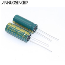 105 degrees Electrolytic capacitor 25V 2200UF Sanyo LCD Sound power high-frequency capacitance 10 * 25