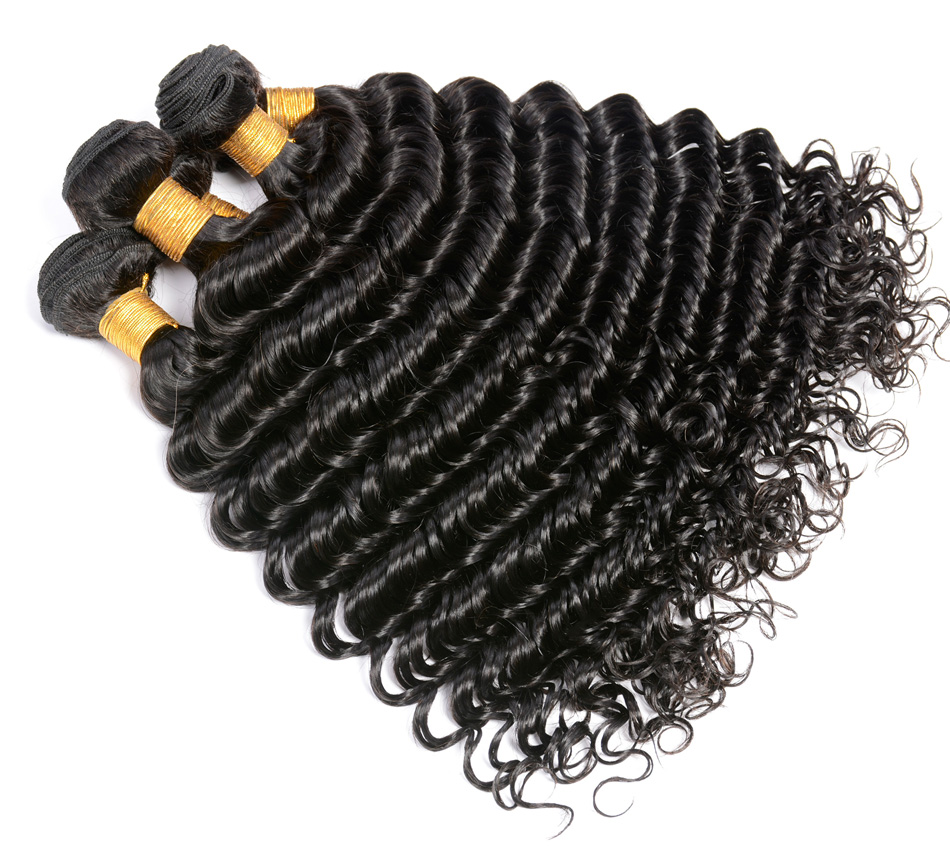 "Iwish Brazilian Deep Curly Hair 100% Human Hair Weave Bundles 1pc Non Remy Hair Extension Natural Color 10-28"" Free Shipping"
