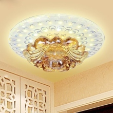 Modern led aisle lights crystal entrance lights 12W surface mounted/embedded ceiling light hallway/hotel/living room lamps led(China)