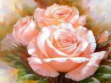Diy 5D home decordiamond Painting full diamond mosaic embroidery Pink roses picture Needlework cross stitch diamond gift