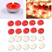10PCS Wedding Party Round Floating Candle Disc Floater Candles Home Decor