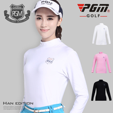 New PGM Golf Polo Tshirt Render Garment Ms. Spring Clothing Long Sleeve Clothes Underwear Women's Wear Uniforms Dry fit Tshirt