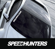 Hellaflush Style Speedhunters Front Windshield stickers Reflective Vinyl Material Cars  Vinyl Car Decals Used Car Decoration
