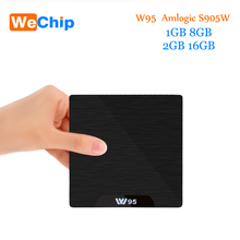Amlogic S905W W95 Android 7.1 TV Box Quad Core 2.4G WiFi H.265 4K 30fps VP9 Media Player 2G/8G 1G/8G Wechip IPTV PK X96mini(China)
