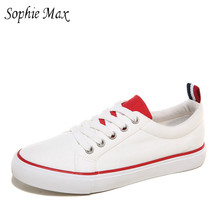 sophie max manufacturers wholesale autumn new sports couples male and female students canvas shoes 870008(China)