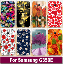 2015 Free Shipping Colorful Brilliant Rose Peony Flowers Background Phone Case Cover Skin Shell For Samsung Star Advance G350E