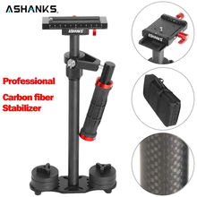 ASHANKS A60c Steadycam 3kg Loading 57cm Carbon Fiber Handheld Stabilizer Steadicam DSLR Canon Sony Video Camera Photography