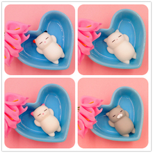 (AOSST) LOL Dumpling Seal Man Squishy Anti Stress Fidget Stick Cat Good Luck Le Vent Squeezed Prank Toys Christmas Gifts(China)
