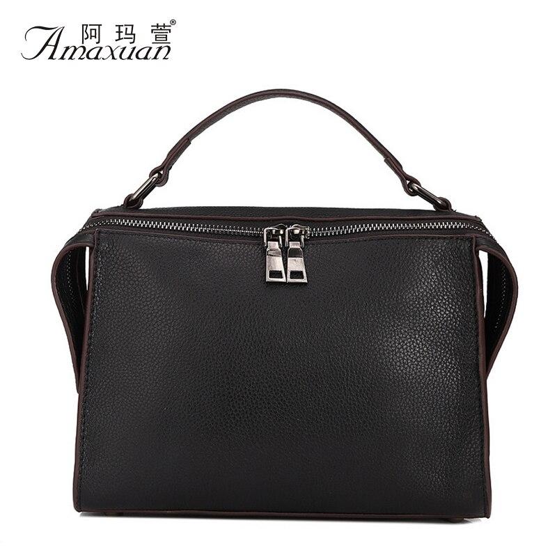 New Arrival Women Elegant Casual Tote Genuine Leather Fashion Crossbody Bags European Style Shoulder Bags Bolas Feminina BH1201<br><br>Aliexpress