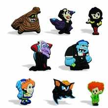 Hotel Transylvania Creative Style 16pcs Cartoon Blackboard Magnetic Refrigerator Magnet Sticker Kid Party toy School Supplies