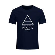 30 Seconds To Mars T-Shirt Men's Short Sleeve Printed Summer Male Tops Tees Fashion Music Rock And Roll Band Customes Camisetas