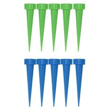 10Pcs Automatic Garden Cone Watering Spike Plant Flower Waterers Bottle Irrigation(China)